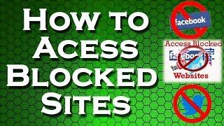 How To Open Blocked Websites In India 2017 ?