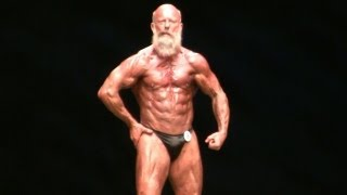 getlinkyoutube.com-60 Year Old IFBB Pro Bodybuilder Andreas Cahling at The 2012 Master Mr Olympia.