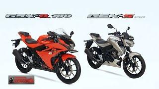 getlinkyoutube.com-GSX-R150 GSX-S150 ม้าเต็ม 19.17 ps vs YZF-R15 vs CBR150R Suzuki พร้อมลุยปี 2560 : motorcycle tv