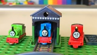 Rare Thomas and Friends Toy Trains Play Set with Percy Annie and Clarabel James