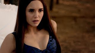 The Vampire Diaries: 8x16 - Bonnie's dying, sees Elena in her head and wakes up [HD]