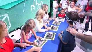 getlinkyoutube.com-D23 Expo 2013: Bridgit Mendler performance & Good Luck Charlie cast