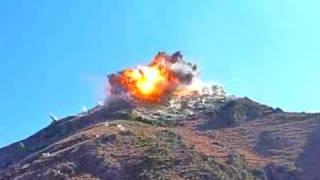 getlinkyoutube.com-HUGE JDAM BOMB STRIKES TALIBAN POSITION