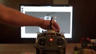 getlinkyoutube.com-Spedix S250 cc3d binding, and Transmitter Setup