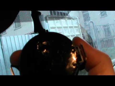 Снятие салонного зеркала и датчика дождя. Ниссан Тиида.