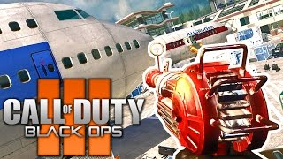 """MW2 TERMINAL ZOMBIES IN BO3 MODS """"REMASTERED"""" + BONUS MAPS Call of Duty Black Ops 3 Gameplay"""