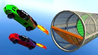 ROCKET JET SUPERCARS IN RACES!? (GTA 5 Funny Moments)
