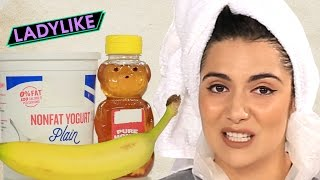 flushyoutube.com-Women Try DIY Hair Masks • Ladylike