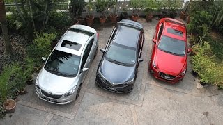 getlinkyoutube.com-DRIVEN 2014 #5: Mazda 3 vs Toyota Corolla Altis vs Kia Cerato
