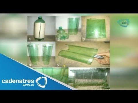 Tejas de pet para invernaderos / Invento útil con Josefo