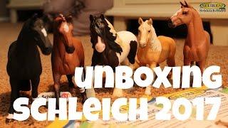 getlinkyoutube.com-SCHLEICH HORSES 2017 UNBOXING + korting   horzielover