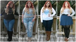 getlinkyoutube.com-The Curvy Diaries: Casual Fall Lookbook | Plus-Size