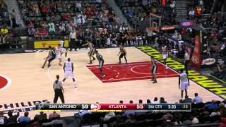 getlinkyoutube.com-2015-10-14 NBA PS Boban Marjanovic vs Atlanta