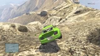 getlinkyoutube.com-Cours poursuite sur une montagne O.o GTA 5