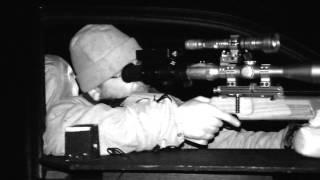 Rabbit shooting at night: The Invisible Man