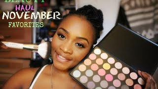 getlinkyoutube.com-Beauty Haul +November Favorites 2015 MORPHE BRUSHES 35B 35K 35E + MORE