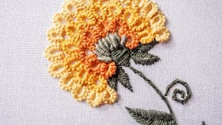 getlinkyoutube.com-Hand Embroidery | Stitching Tutorial by Hand | HandiWorks #89