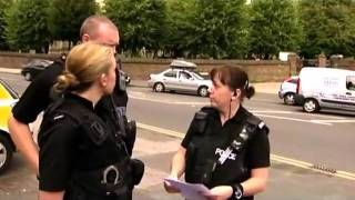getlinkyoutube.com-Traffic Cops PC Shona Gillen Taser arrest