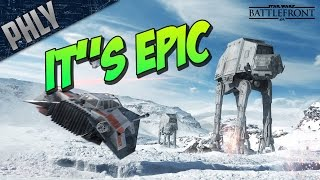 STAR WARS Battlefront - ATAT WALKER - Gameplay & First Impressions - IT'S EPIC!