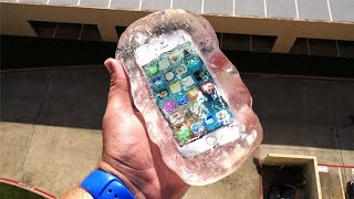 getlinkyoutube.com-Can Liquid Glass Putty Protect iPhone SE From 100 FT Drop Test? - GizmoSlip