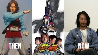 Then and Now : Kamen Rider Ryuki Cast
