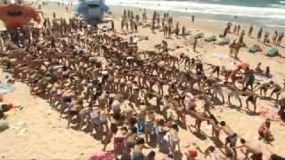 getlinkyoutube.com-Флешмоб на пляже