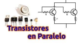 getlinkyoutube.com-Cómo Conectar Transistores en Paralelo para Aumentar la Potencia