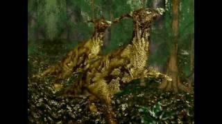 Dinosaurier 3D: Erd-Mittelalter Kreide - Parasaurolophus Part 2