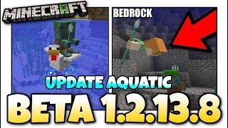 Minecraft - 1.13 BETA OUT NOW ! Update Aquatic / Change Log + New Mob ! MCPE / Xbox / Bedrock