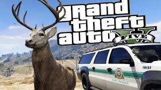 getlinkyoutube.com-GTA 5 PC Mods - Wildlife Rescue Agency Missions - GTA Funny Moments Montage