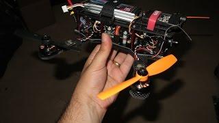 getlinkyoutube.com-ZMR250 V2 , Naze32, Cobra 2204 , OSD , 1 Axis Gimbal fpv racer - Peel Drone