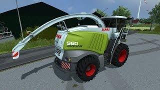 getlinkyoutube.com-Farming Simulator 2013 Presentazione Claas Jaguar 980 By MB3D Modelling
