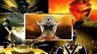 Gold Rangers Morphs (Power Rangers Zeo - Power Rangers Ninja Steel)