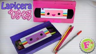 getlinkyoutube.com-Haz tu propia Lapicera con cassette VHS || Floritere