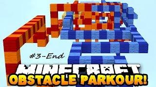 getlinkyoutube.com-[Minecraft Parkour] Obstacle Parkour #3-End: Quá nhiều minigame