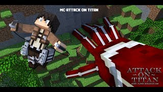 getlinkyoutube.com-[Minecraft - Attack On Titan] - เดินเล่นไปทั่ว #1
