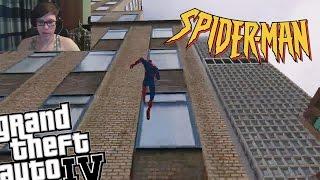 getlinkyoutube.com-GTA IV Live Stream - Fun with Spiderman Mod