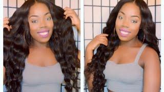 getlinkyoutube.com-Aliexpress Virgin Malaysian Loose Wave : Ali Moda Hair + NYX Haul