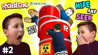 getlinkyoutube.com-Let's Play ROBLOX #2: Hide and Seek Extreme w/ Mike (FGTEEV Xbox One Gameplay / Skit)