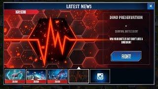 getlinkyoutube.com-Legendary Card Pack Unlocked! || No KO Event || Jurassic World - The Game HD
