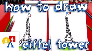 getlinkyoutube.com-How To Draw The Eiffel Tower