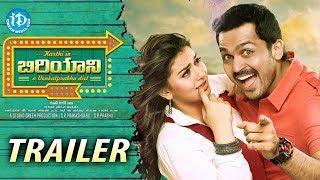 Karthi's Biryani Telugu Movie Trailer - Karthi - Hansika Motwani - Premji Amaren width=