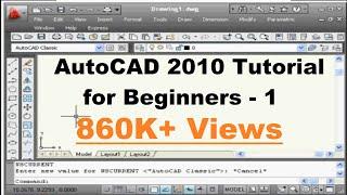 getlinkyoutube.com-AutoCAD Tutorial for Beginners - 1