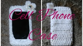 DIY iPHONE CASE Learn How to Crochet Easy Cell Phone Tablet Case Cover Holder iPhone