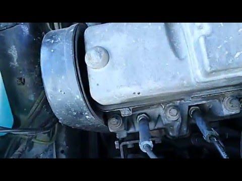 (ВАЗ 2114) Посторонний звук (треск) в двигателе! 1.5 8кл.