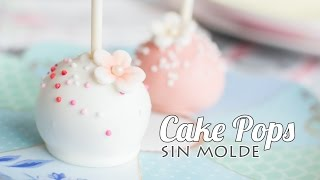 getlinkyoutube.com-Cake Pops sin molde   #6 Mesa dulce para Baby Shower   Quiero Cupcakes!