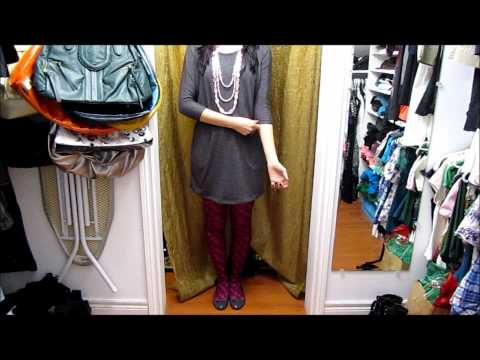 OOTD-How to Wear Printed Tights