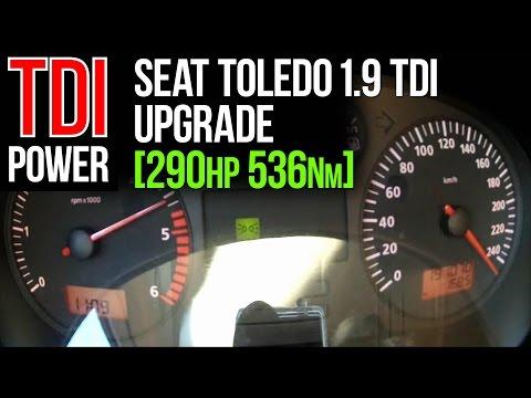 290hp upgrade: Seat Toledo (1.9 TDI) by JB autoservice & JD Engineering