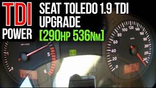 getlinkyoutube.com-290hp upgrade: Seat Toledo [1.9 TDI] by JB autoservice & JD Engineering