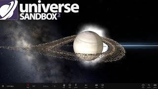 getlinkyoutube.com-BLACK HOLE WITH PULSAR STAR RINGS THINGY - Universe Sandbox 2